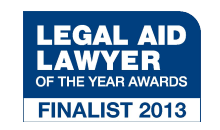 Legal Aid Lawyer of the Year 2013