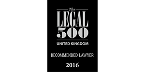 The Legal 500 Recommended Lawyer